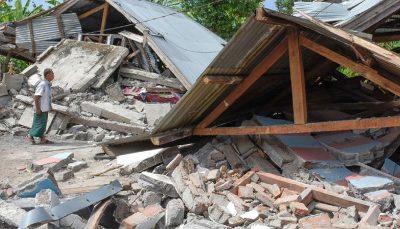 ۳۱ کشته و زخمی بر اثر وقوع زمین لرزه ۶ ریشتری در اندونزی