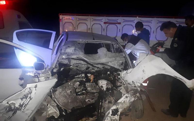️۵ کشته در تصادف برلیانس با کامیون ایسوزو