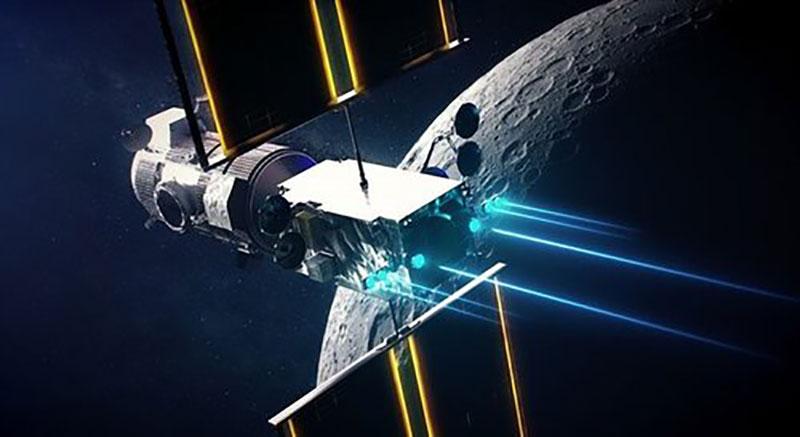 """تصاویر خیره کننده ناسا از ایستگاه فضایی """"دروازه ماه"""" / عکس"""