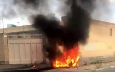 سانحه برای یک فروند پهپاد در شاهین شهر اصفهان