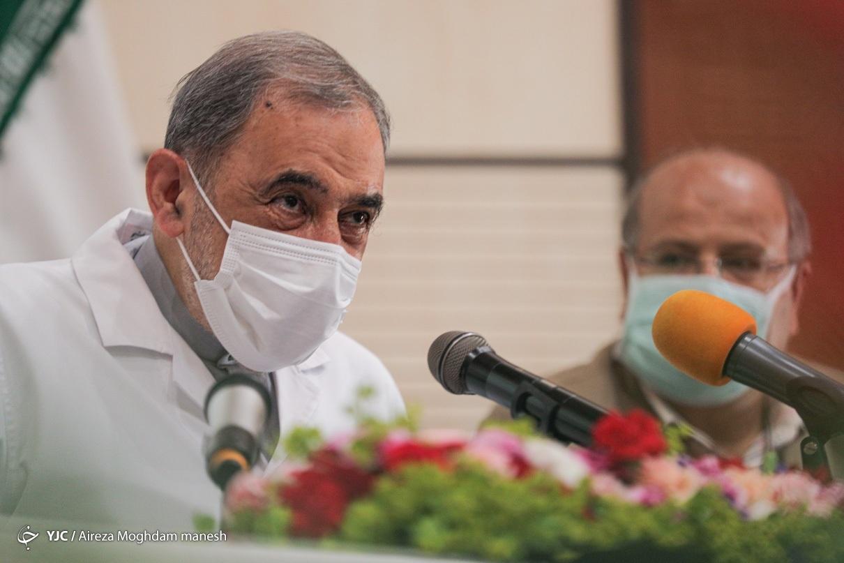 رونمایی از اسپری ضد کرونای ایرانی