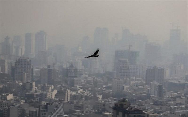 هوای شش شهر ناسالم اعلام شد