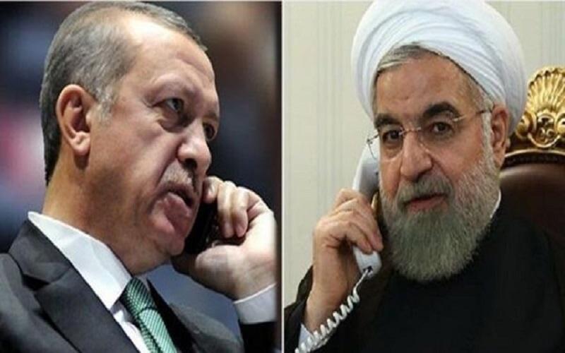 حسن روحانی در گفت و گوی تلفنی با اردوغان برخورد جدی با رژیم صهیونیستی ضروری دانست