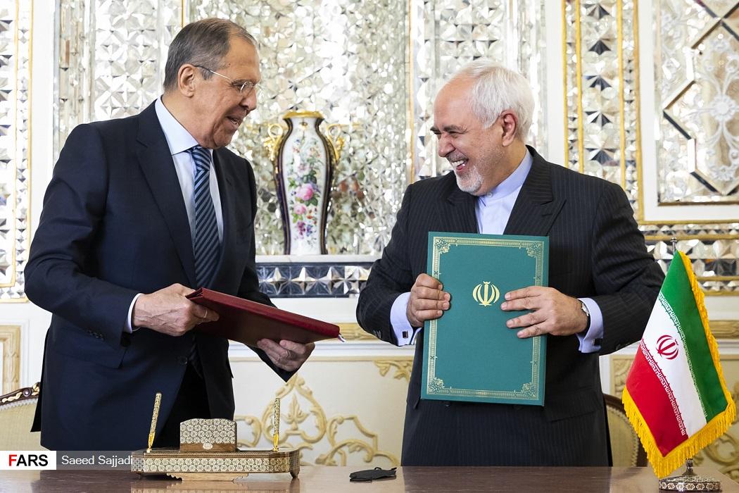 دیدار وزیر امور خارجه روسیه با ظریف