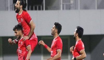 پیروزی تراکتور ایران مقابل تیم نیروی هوایی عراق