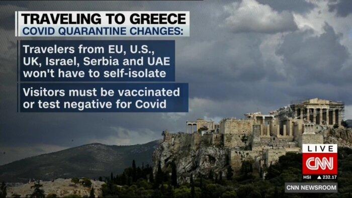 یونان نخستین گام برای پذیرش گردشگران را برداشت