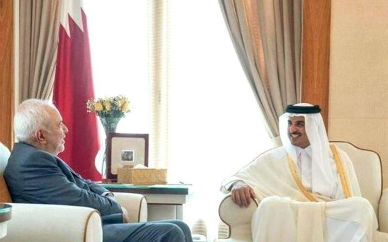سفر ظریف به قطر
