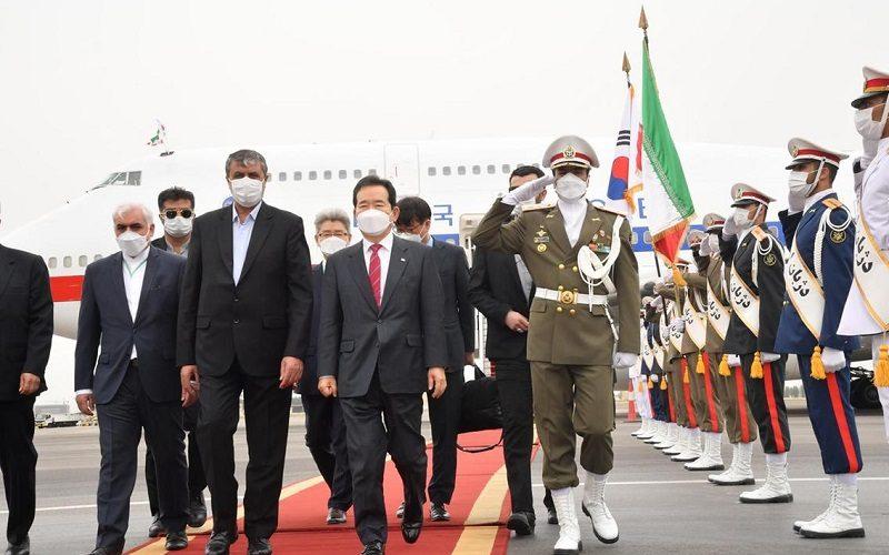 سفر نخست وزیر کره به تهران