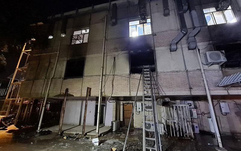 انفجار در بیمارستان کروناییها در عراق؛ شمار تلفات به ۲۷ نفر رسید/ فیلم