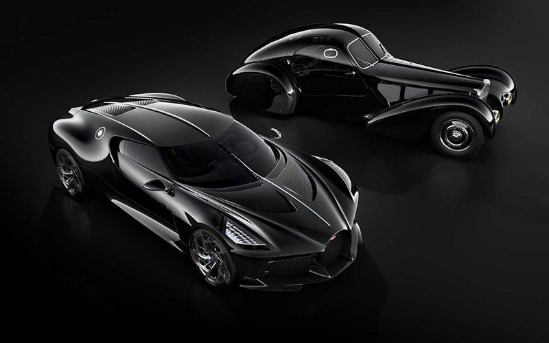 تصاویری حیرت انگیز از جدیدترین خودرو بوگاتی