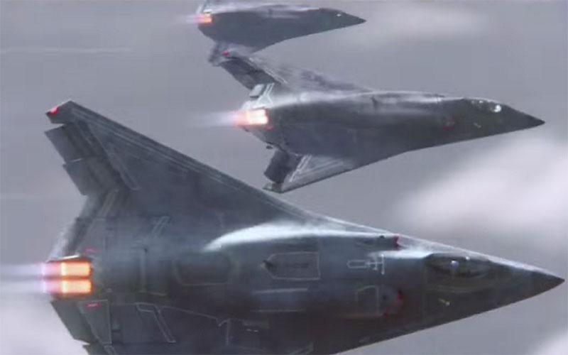 اطلاعاتی از نسل بعدی جت جنگنده نیروی هوایی ارتش آمریکا/ عکس