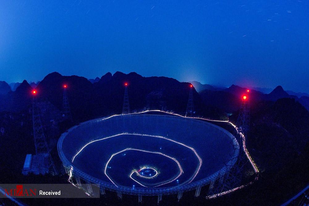 بزرگترین و حساسترین تلسکوپ رادیویی جهان