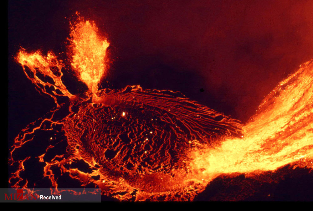 قلب سوزان آتشفشانها
