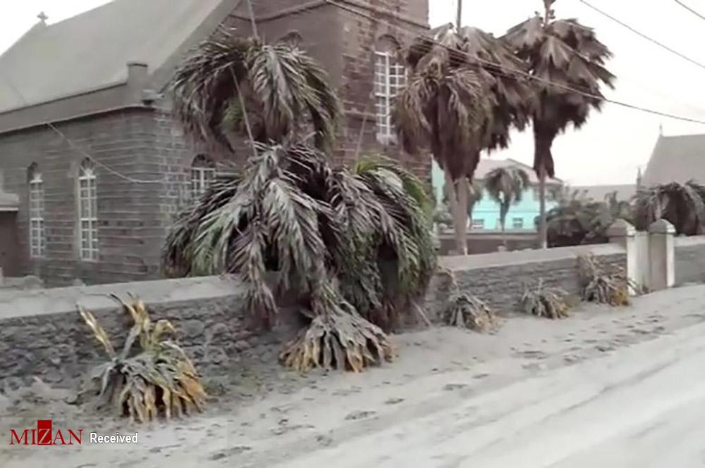 کارائیب زیر خاکستر