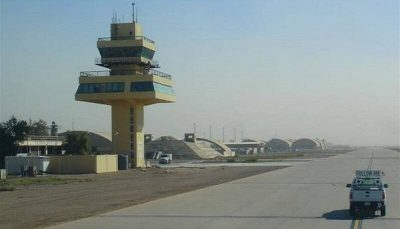 3065882 حمله دو راکت به بزرگ ترین پایگاه هوایی عراق