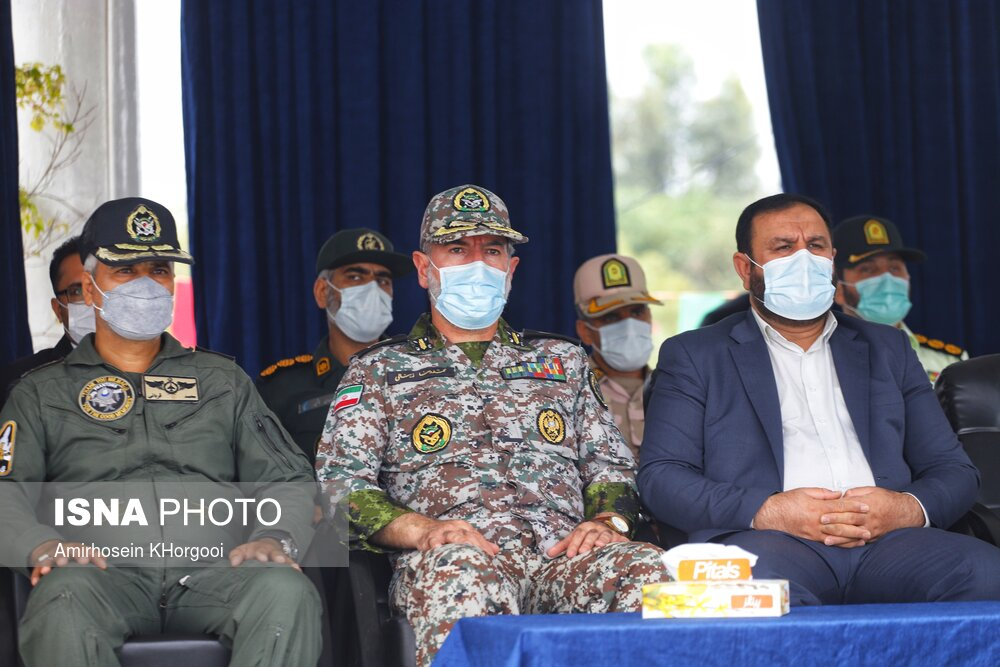 مراسم روز ارتش در بندرعباس