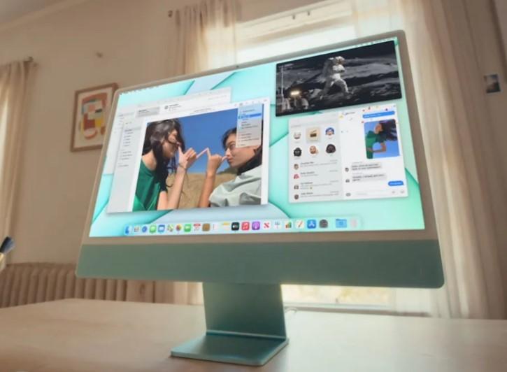 آی مک 24 اینچی 2021 اپل زیباتر از همیشه