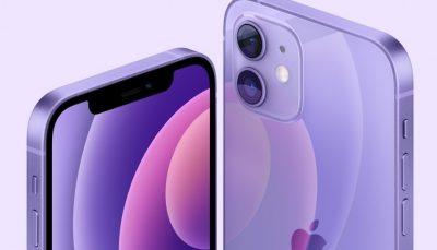 اپل و معرفی گزینه رنگی بنفش برای آیفون 12 و 12 مینی