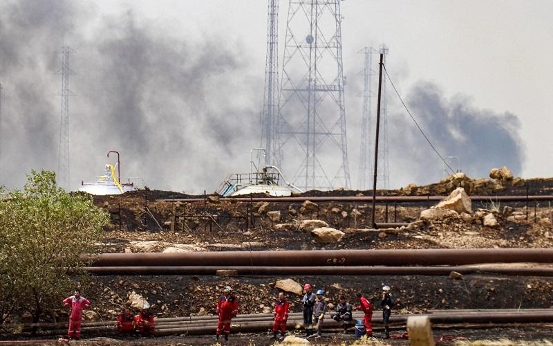 ۲ چاه نفت در کرکوک عراق مورد هدف اقدام تروریستی قرار گرفت