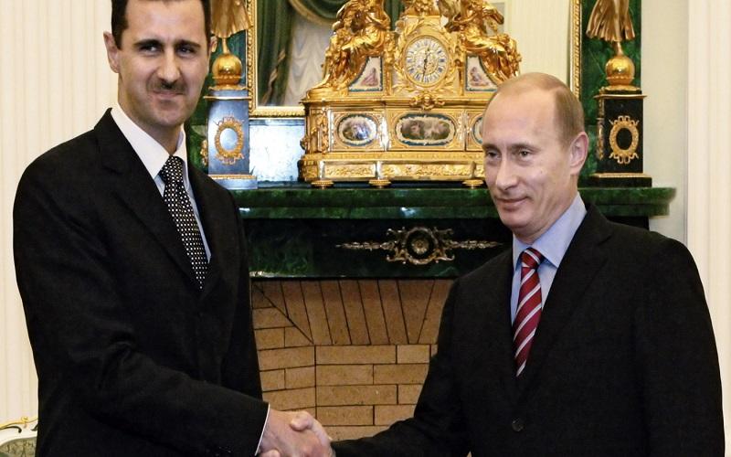 گفتگوی پوتین و بشار اسد درباره آخرین تحولات سوریه