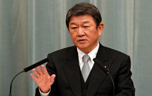 وزیر خارجه ژاپن در تماس با همتای چینی خود خواستار حل مناقشات دریایی شد