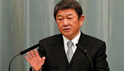 download وزیر خارجه ژاپن در تماس با همتای چینی خود خواستار حل مناقشات دریایی شد