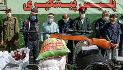 اجرای چهل و سومین مرحله طرح رعد در تهران