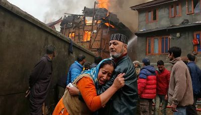 آتش سوزی در بیمارستانی در هند