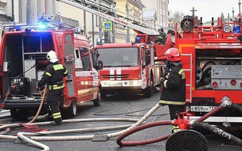 آتش سوزی در هتل