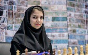 نفر نخست شطرنج زنان ایران به کرونا