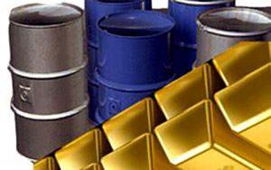 افزایش قیمت نفت و طلا