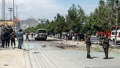 انفجار اتوبوس، ۲۵ نفر را در افغانستان