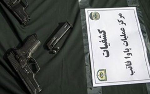 انهدام ۳ باند سلاحهای جنگی آمریکایی در تهران