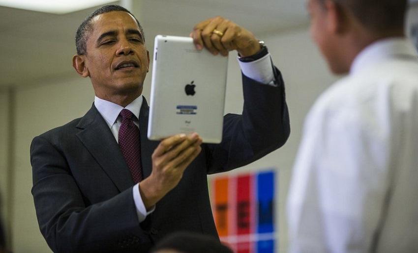 همه چیز درباره شرایط استفاده روئسای جمهور آمریکا از دستگاه های دیجیتال