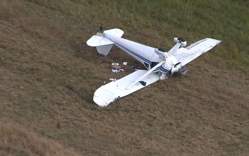 حادثه سقوط هواپیمای ۲ نفره مورد تایید نیست