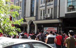 تجمع هواداران پرسپولیس