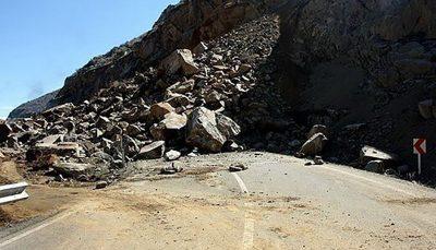 جزییات حادثه ریزش کوه در آزادراه تهران- شمال