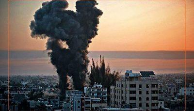 رژیم صهیونیستی مجددا غزه را بمباران کرد