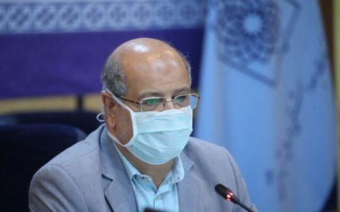 زالی: شرایط کرونایی تهران