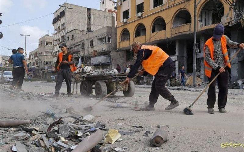 زندگی عادی به خیابانهای غزه
