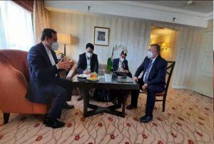 گفتگوی رئیس هیأت مذاکره کننده چین با عراقچی