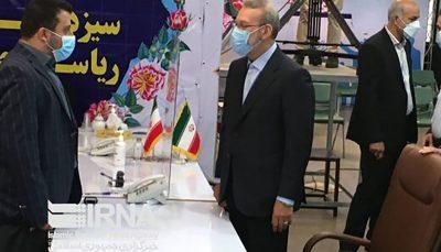 علی لاریجانی در انتخابات ریاست جمهوری