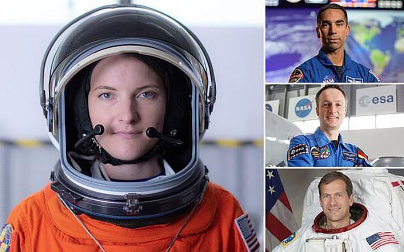 فضانوردان ماموریت کرو-۳ اسپیسایکس