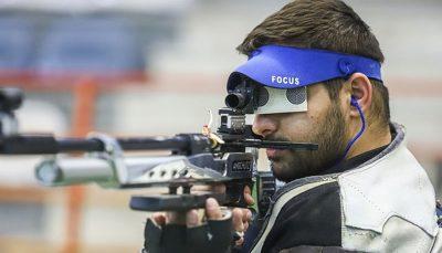 نتایج تیراندازان ایرانی در مسابقات تفنگ سه وضعیت قهرمانی اروپا مشخص شد