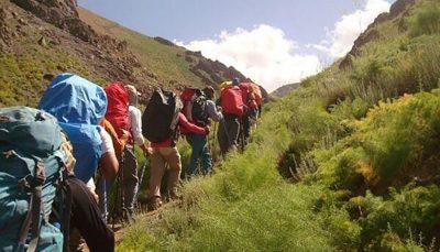 نجات چند کوهنورد از ارتفاعات حوالی اتوبان تهران - شمال