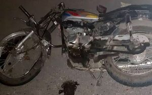 واژگونی موتورسیکلت