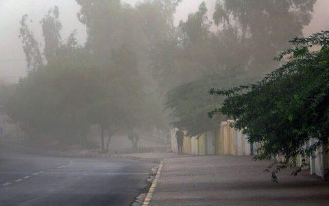 وزش باد شدید در استان تهران