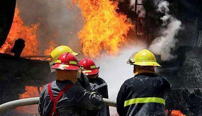 آتشسوزی یک مرکز ترک اعتیاد