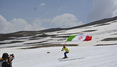 پایان فصل اسکی در پیست توچال