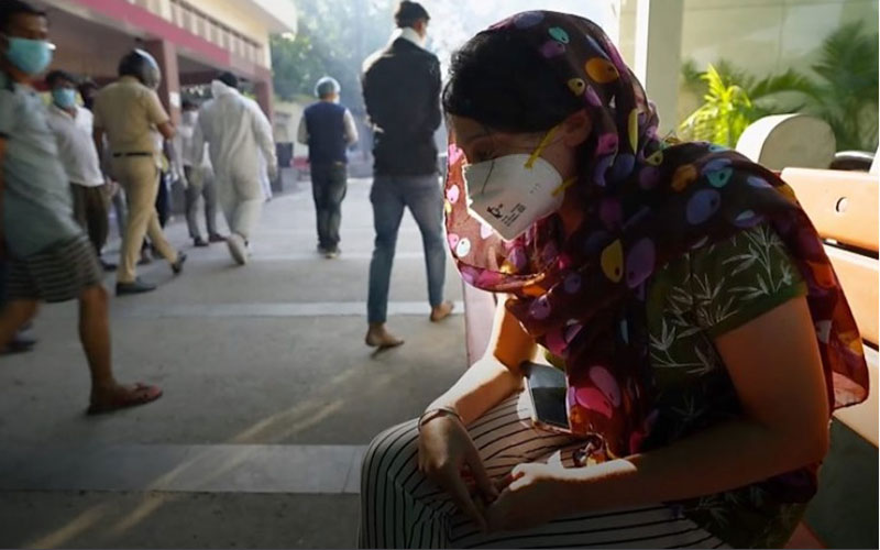 کرونا و اکسیژن رسانی خیابانی در هند